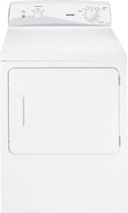 General Electric Appliances 6.0 CF Hotpoint Electric Dryer in White GHTDX100EDWW
