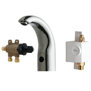 Chicago Faucet HyTronic® 6 in. 0.25 gpc Lavatory Faucet C116972AB1