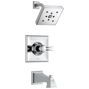 Delta Faucet Dryden™ 2 gpm Pressure Balance Tub and Shower Trim with Single Lever Handle DT14451H2O