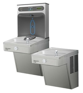Halsey Taylor HydroBoost™ Wall Mount Bi-Level ADA Cooler with Filter H8654080783HTHB