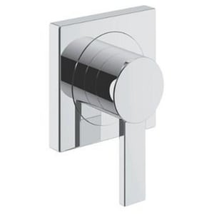 Grohe Volume Control Trim with Lever Handle in Starlight Polished Chrome G19384000