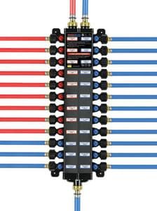 Viega ManaBloc® Model V5640 160 psi Polymer PEX Press Valve Manifold V496