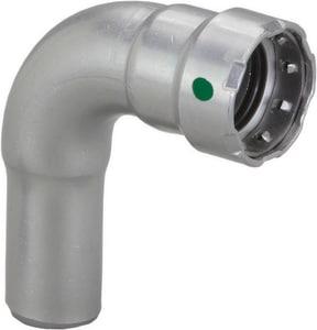 Viega North America MegaPress FTG x Press Carbon Steel 90 Degree Elbow with EPDM Sealing Element V260