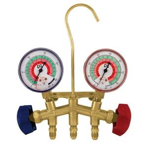 JB Industries Brass Manifold Pressure Gauge JM28410A