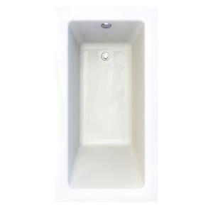 American Standard Studio® 59-3/4 x 31-1/2 in. Acrylic Drop-In Rectangular Bathtub A2932002D2