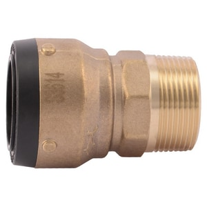 Push Brass Adapter SSB11M