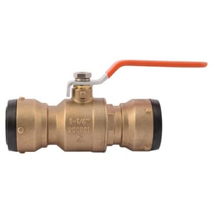Sharkbite DZR Brass Full Port Push 200# Ball Valve SSBBV