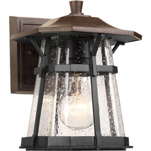 Progress Lighting Derby 1 Light 100W Outdoor Wall Lantern Espresso PP5784