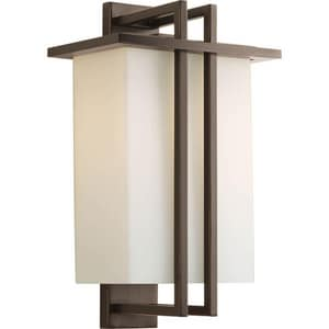 Progress Lighting Dibs 16-1/2 x 9-3/4 in. 100W 1-Light Outdoor Wall Lantern PP5991