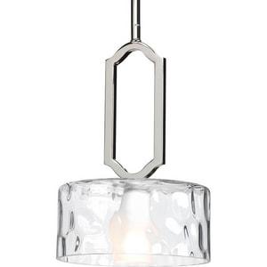 Progress Lighting Caress 12-1/2 in. 1-Light Mini Pendant PP5306