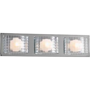 Progress Lighting Cliche 35 W 3-Light G9 Bracket in Polished Chrome PP282515WB