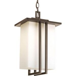 Progress Lighting Dibs 100W 1-Light Medium Lantern in Antique Bronze PP559020