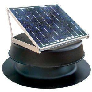 Natural Light Energy Systems 20 Watt Solar Attic Vent NSAF20B