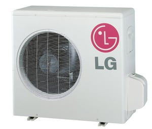 LG Electronics Art Cool™ Wall Mount Outdoor Single-Zone Mini-Split Air Conditioner LGLSUHYV