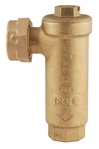 Ford Meter Box Meter Swivel Nut x FIP Straight Angle Dual Check Valve FHHCA31444NL