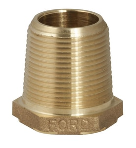 Ford Meter Box MIP x FIP Water Service Brass Bushing FBBAA6NL