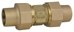 Ford Meter Box Flared Brass Coupling FC22NL