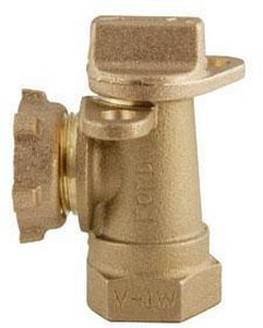 Ford Meter Box 1 in. Service Valve FAV91324WNL