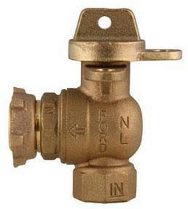 Ford Meter Box 5/8 x 3/4 in. Angle Ball Valve FBA91323WNL