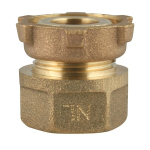 Ford Meter Box 1 in. Meter x FIP Brass Coupling FC9144NL