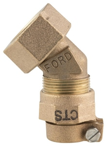 Ford Meter Box Swivel x Pack Joint 45 Degree Bend FLA104SNL