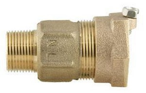 Ford Meter Box MIP Swivel x Pack Joint Brass Coupling FC853NL