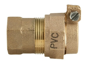 Ford Meter Box FIPT x PVC Pack Joint Brass Coupling FC17NL