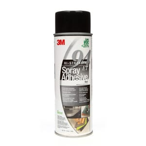 3M Hi-Strength 94 ET Hi-Strength 94 ET Low Volatile Organic Compound Spray Aerosol in Red 3M05111197