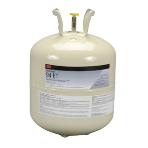3M Hi-Strength 94 ET Hi-Strength 94 ET Low Volatile Organic Compound Cylinder Spray Adhesive in Clear 3M0511119