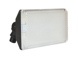 AFX Lighting 10.5W 1-Light Outdoor LED Flood Light in Black ATPDW70050LBK