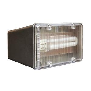 afx lighting 13w 1 light outdoor compact fluorescent flood. Black Bedroom Furniture Sets. Home Design Ideas