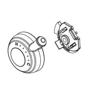 Delta Faucet Cassidy™ Temperature Cap and Knob DRP72572