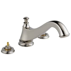 Delta Faucet 3-Hole Roman Tub Faucet Trim with Double Handle DT2795LHP