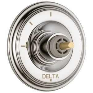 Delta Faucet Cassidy™ 3-Function Diverter Trim Only with Single Cross Handle DT11897PNLHP