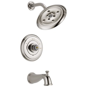 Delta Faucet Cassidy™ 2-Hole Tub and Shower Faucet Trim (Less Handle) DT14497LHP