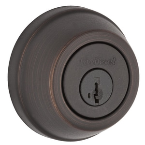 Kwikset 780 Series Single Cylinder Deadbolt in Venetian Bronze K78011PSMTRCALRCS