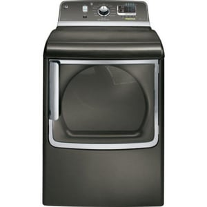 General Electric Appliances 7.8 CF Capacity Electric Dryer in Metallic Carbon GGTDS855EDMC