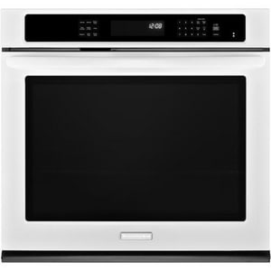 Kitchenaid Architect® 30 in. 5 cf Single Electric Self Cleaning Wall Oven KKEBS109B