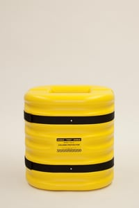 Eagle Manufacturing 24 in. Column Protector in Yellow E1724