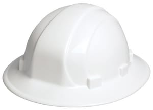 ERB Safety Omega® Full Brim Safety Helmet with Slide-Lock E1950