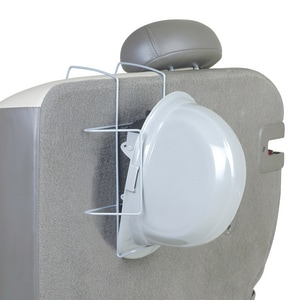 ERB Safety Hard Hat Rack in Silver E17960