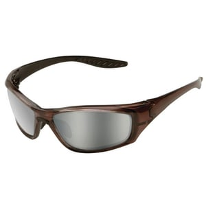 ERB Safety Safety Glasses with Brown Frame E179