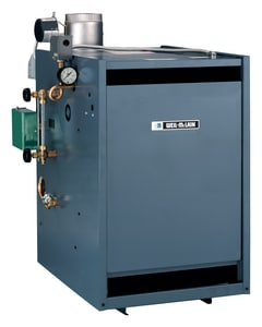 Weil Mclain PEG™  Series 5 83% AFUE 50 Pin Stream Boiler Without Damper W381900354