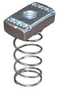 FNW 316 Stainless Steel Channel Nut with Spring FNW7821S600