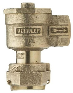 Mueller Company FIP Angle Meter Dual Check Valve MH14244NEFF