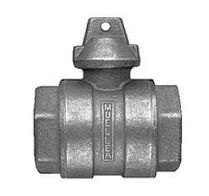 Mueller Industries 1 in. FIP Ball Curb Valve Check MB20283RNG