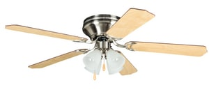 Craftmade International Brilliante 52 in. 5-Blade Ceiling Fan with Light Kit CBRC52BNK5C