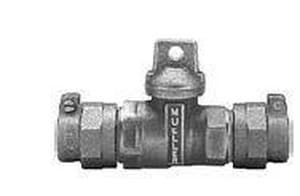 Mueller Company CTS Pack Joint Ball Valve Curb Stop MP25209NG