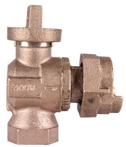 A.Y. McDonald FNPT x Meter Angle Ball Supply Stop Valve M74644B