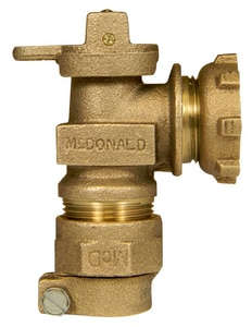A.Y. McDonald 3/4 in. CTS x Yoke Angle Valve M74602Y22F01